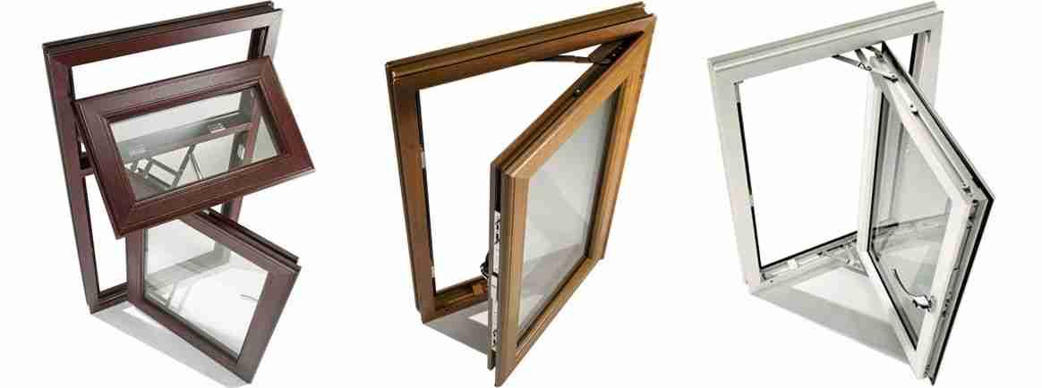 evander casement windows in aluminium timber upvc