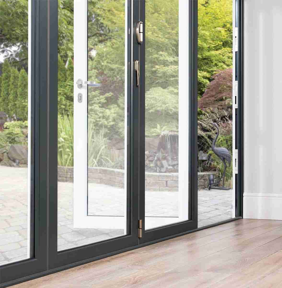 bring the outside in with bifolds