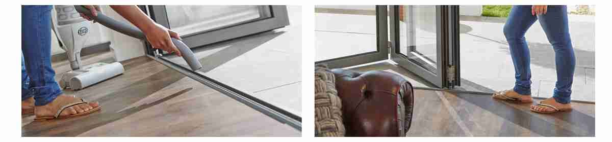 weathered thresholds for bifold doors