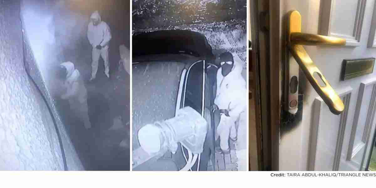 blowtorch burglary using blowtorch to steal car