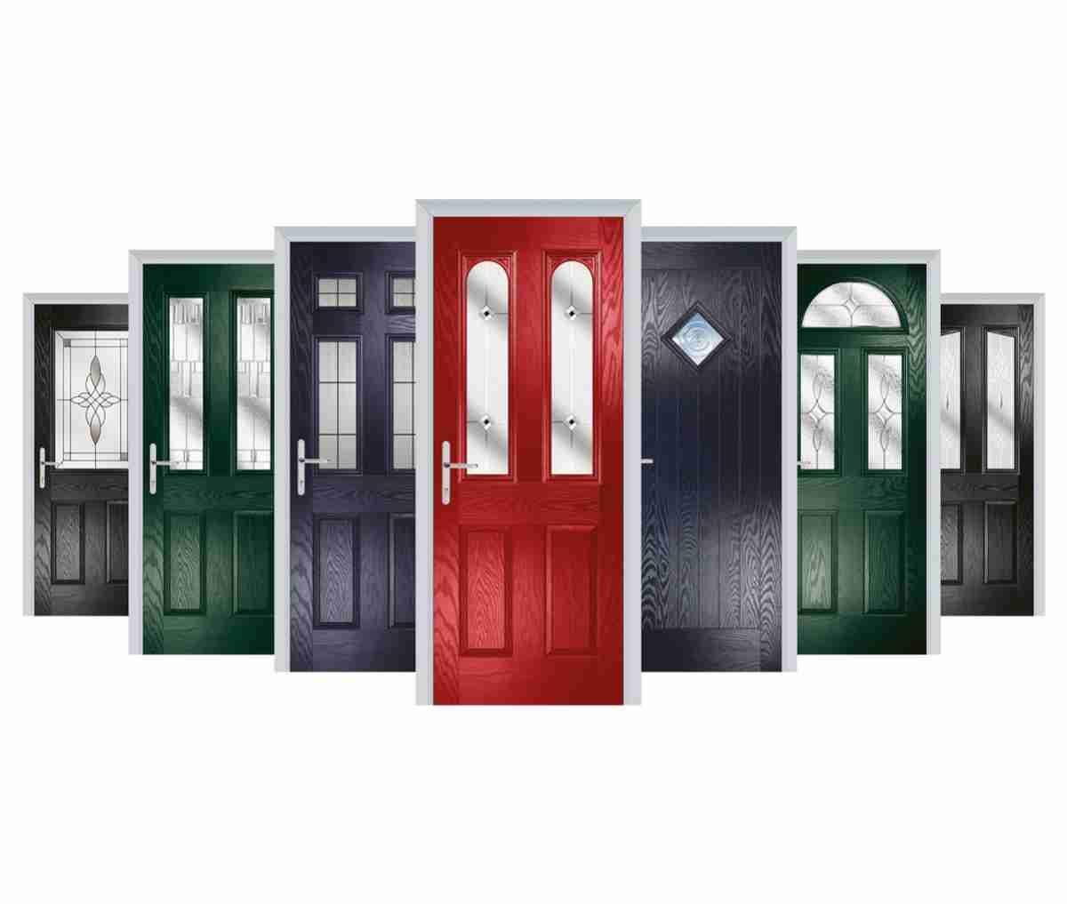 range of composite doors