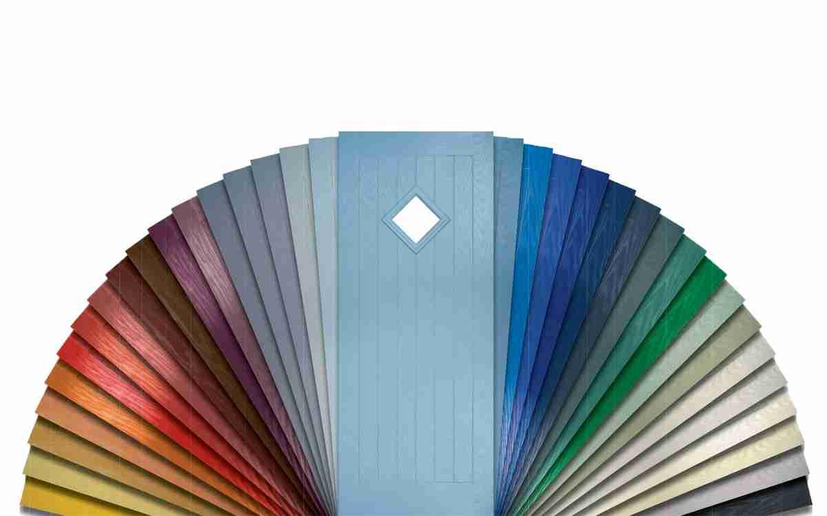 composite door colour collection