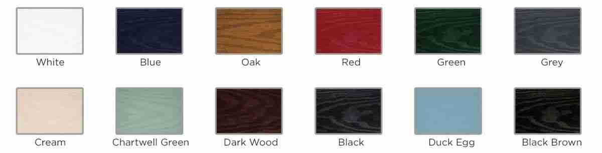 composite doors standard colours