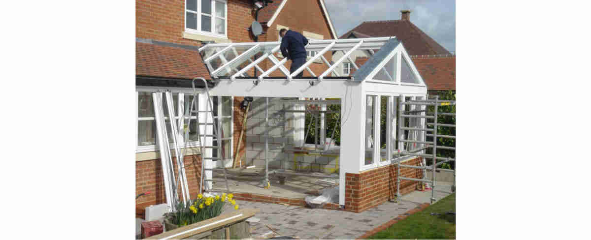 conservatory with planning permission