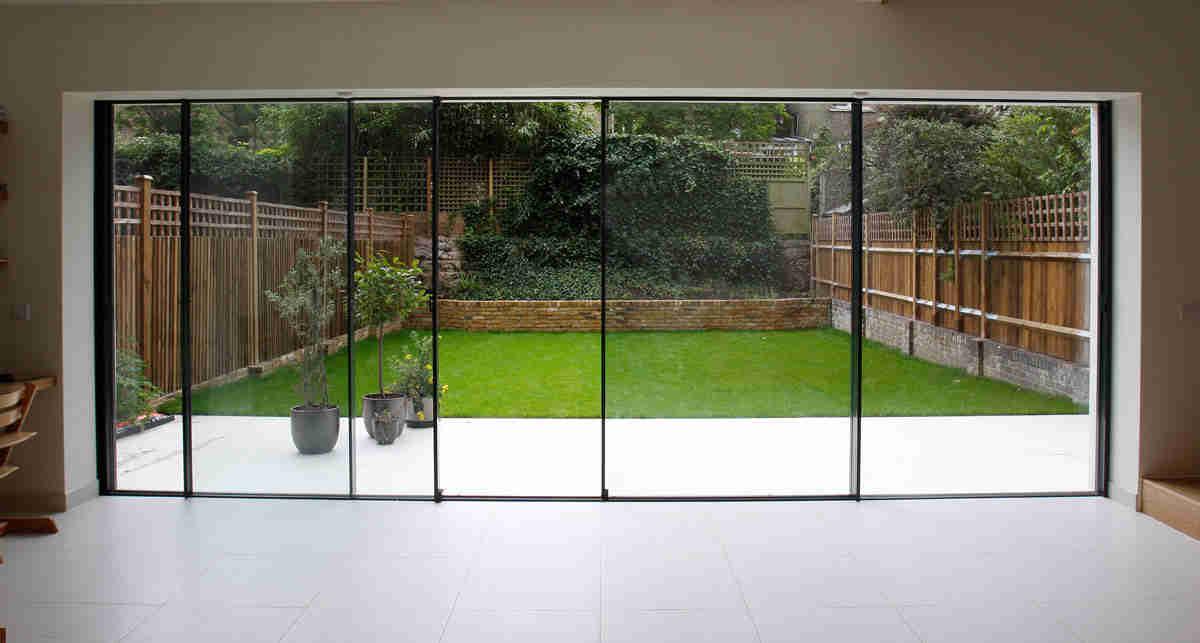 large pane sliding patio doors
