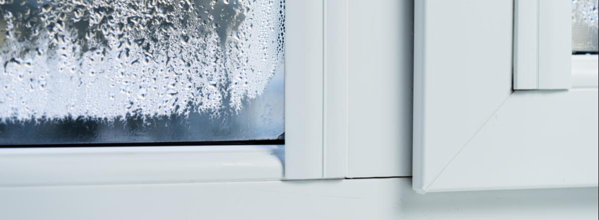 condensation on upvc windows