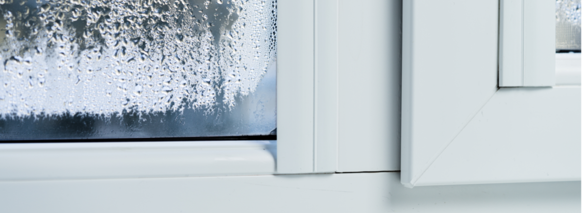 example of misted up double glazing