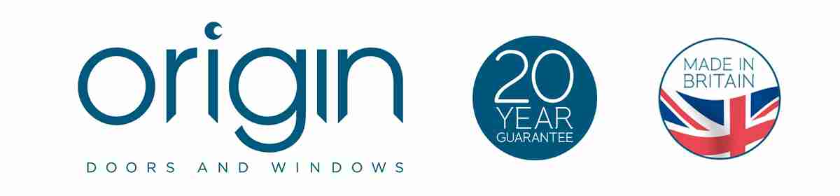origin bifold door showcase 20 year guarantee