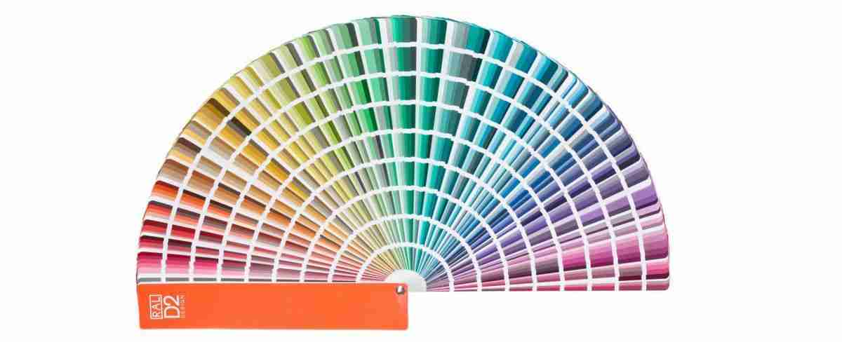 example RAL colour chart