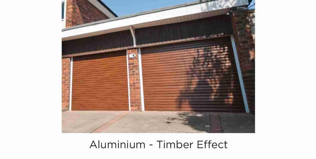 roller timber effect