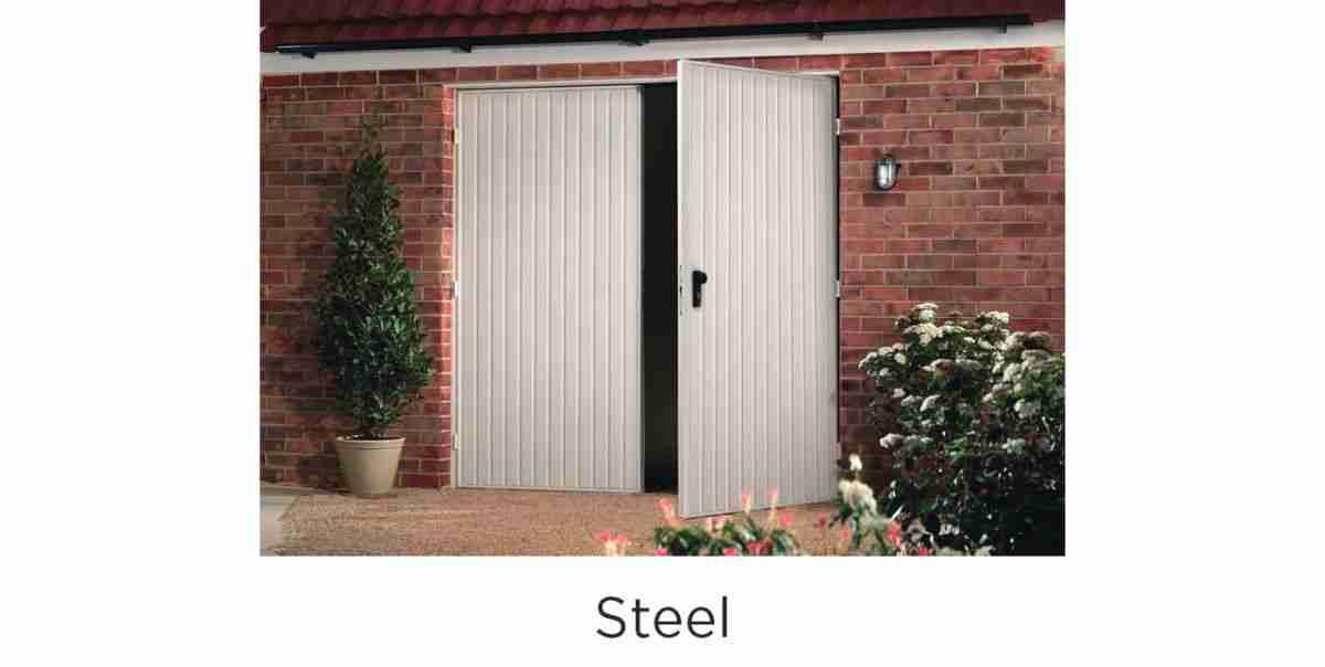 side hinged steel
