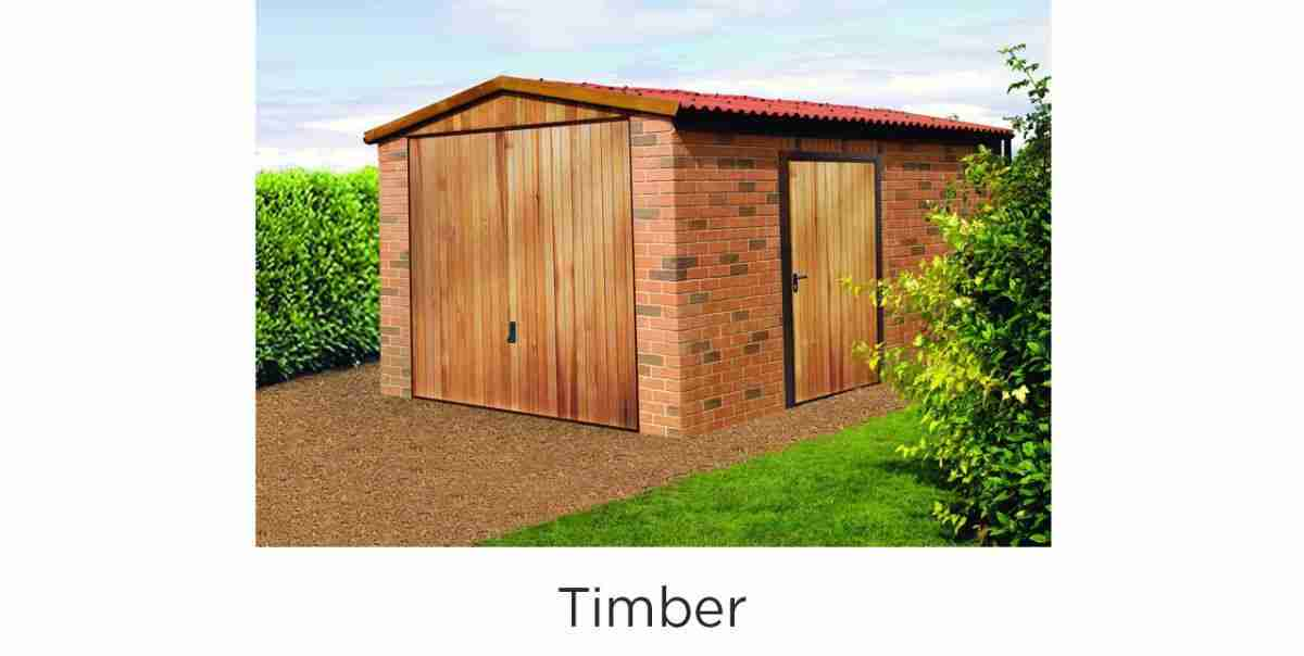 side hinged timber