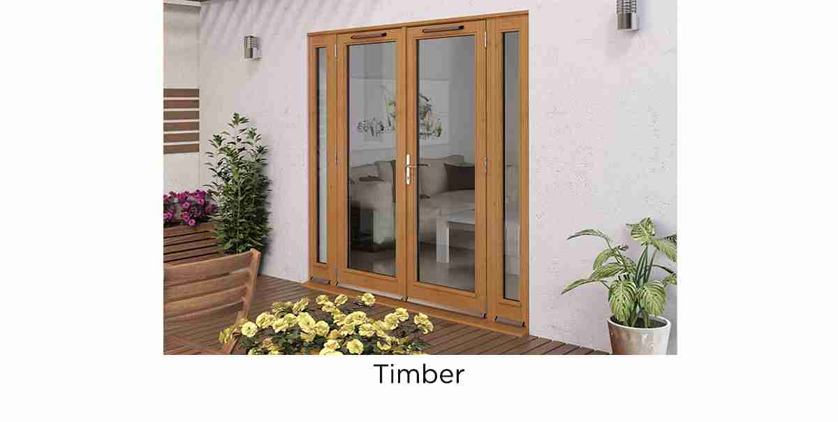timber french door