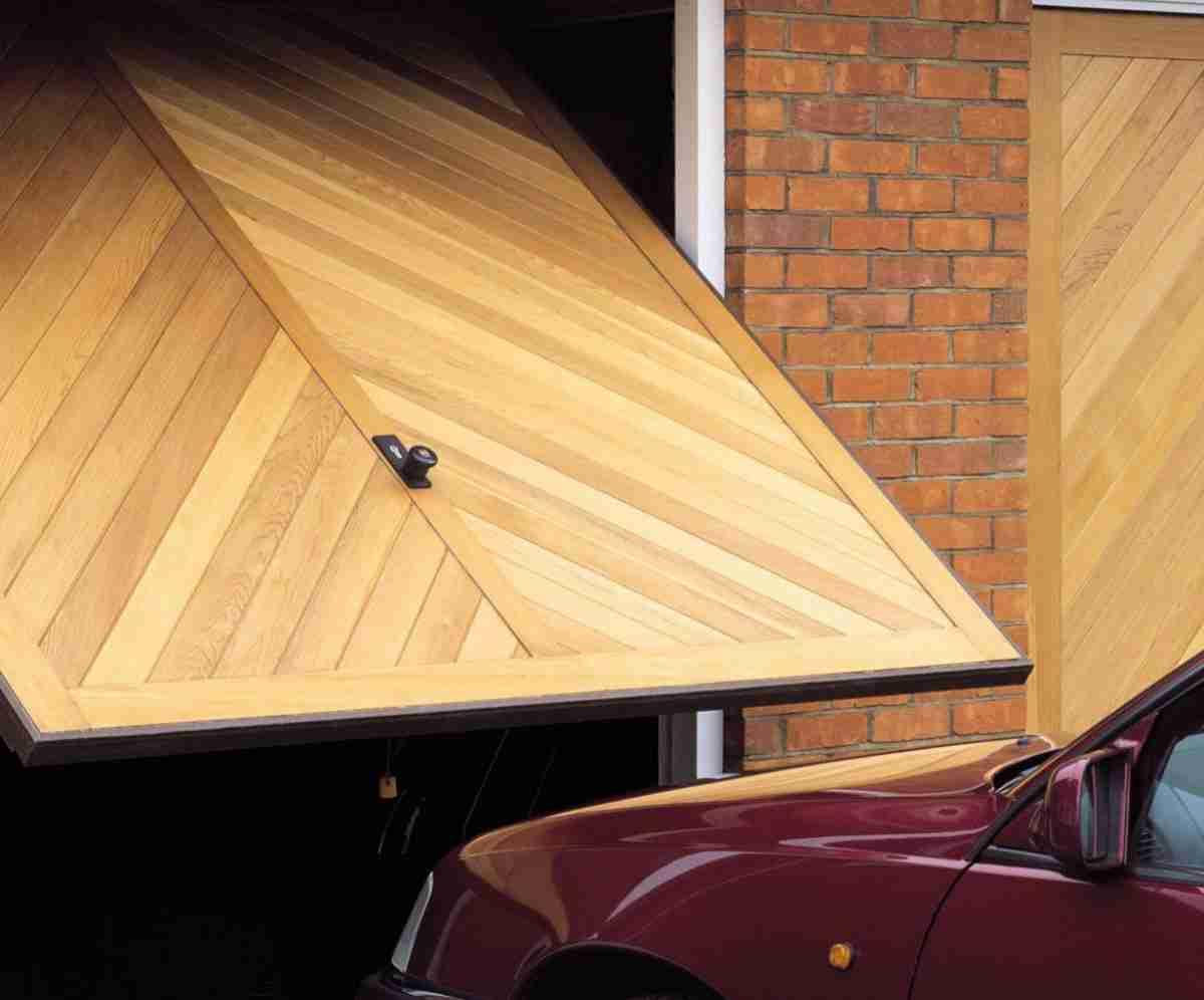tracked garage door opening guide