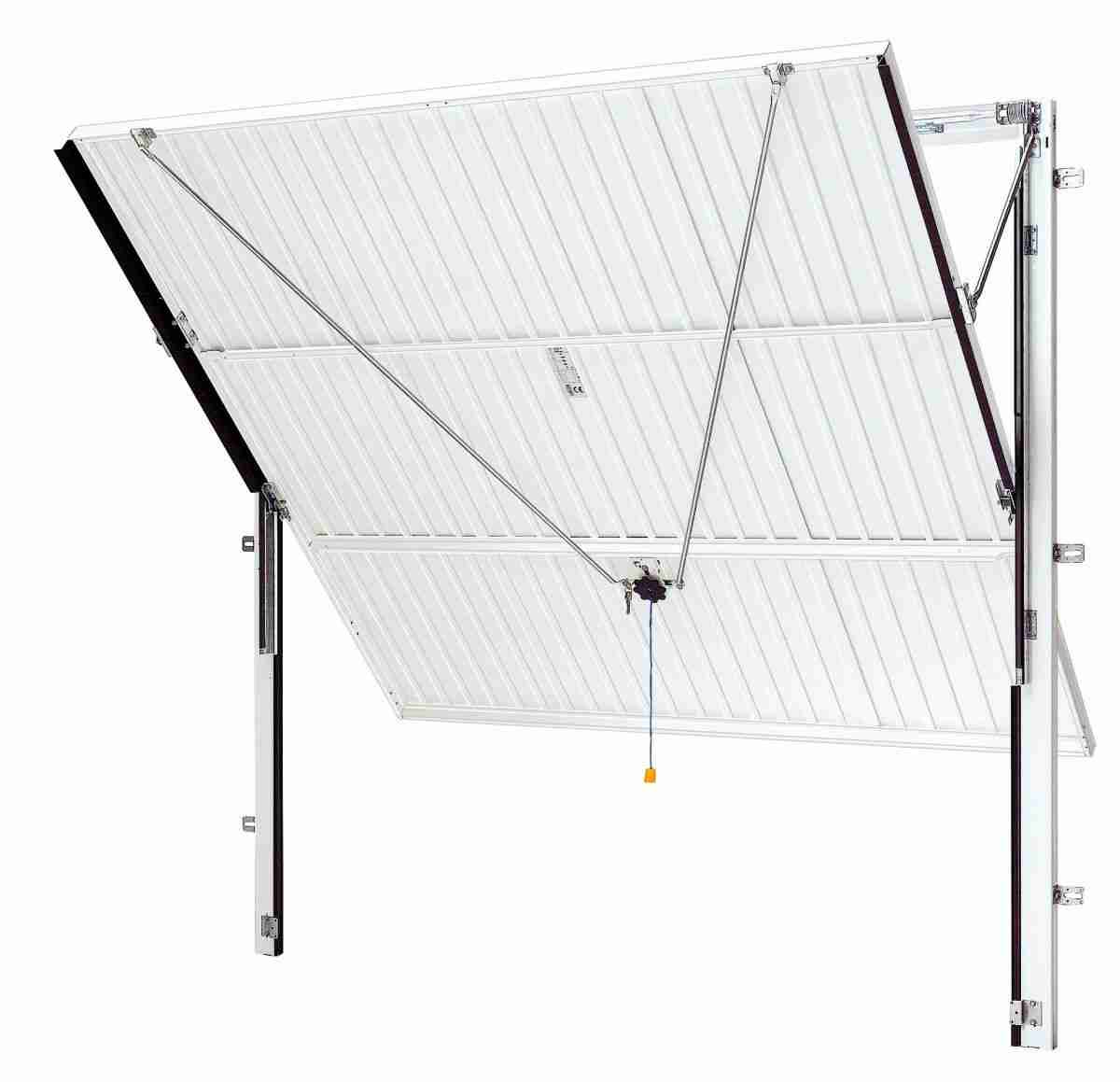 up and over canopy steel