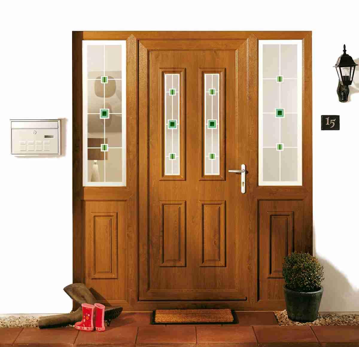 upvc panel door stunning curb appeal