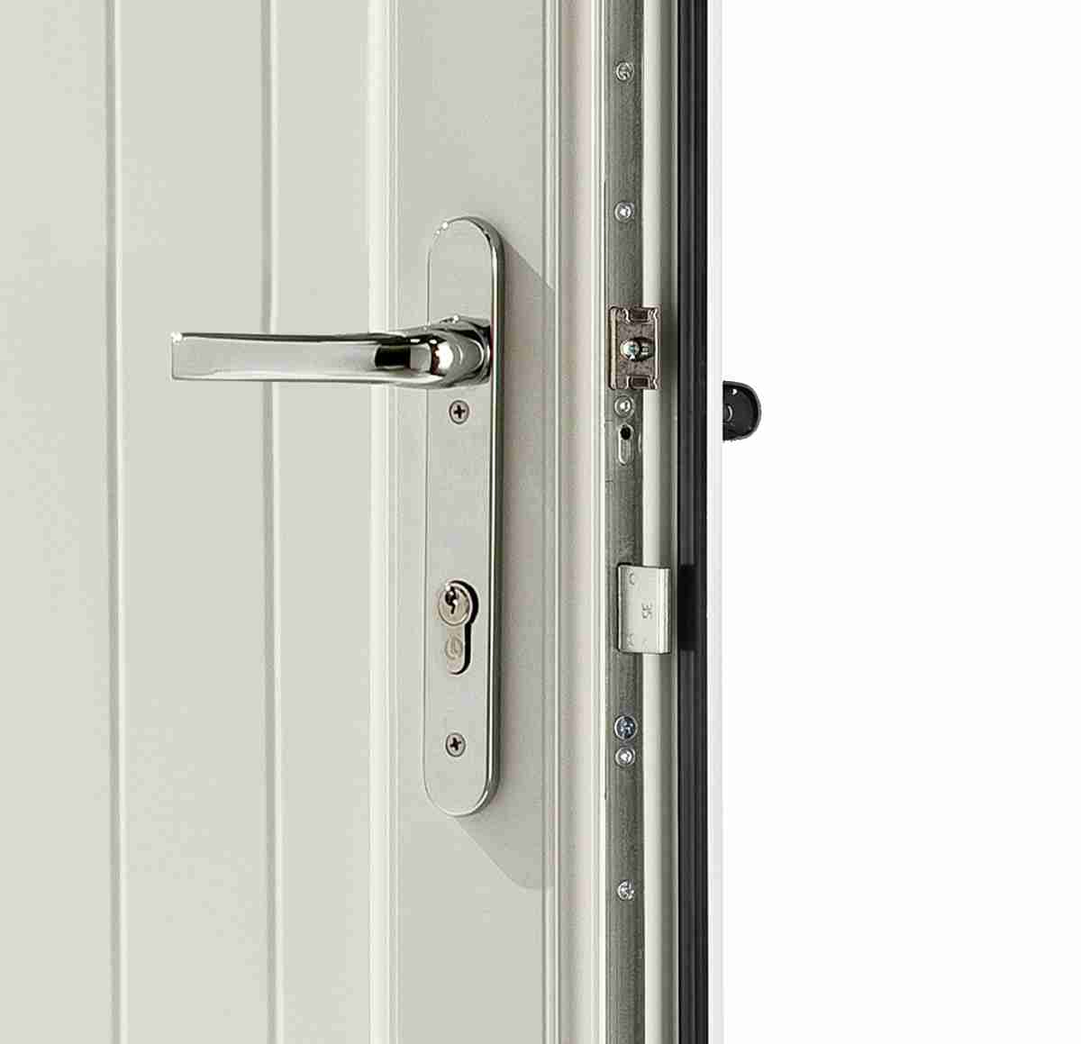 upvc panel door lock and security