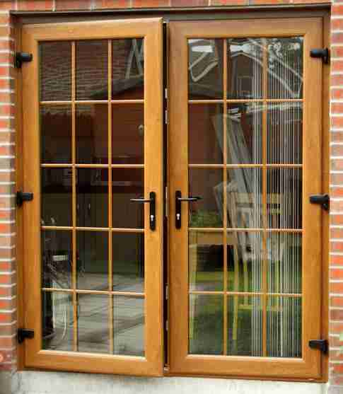 expanding upvc french doors from outside