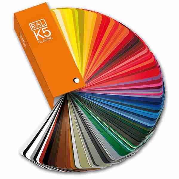 choose any RAL colour for your windows