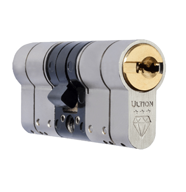 ultion British standard lock against blowtorch