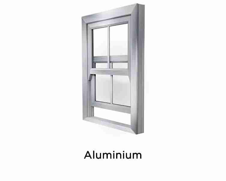 sliding sash aluminium windows