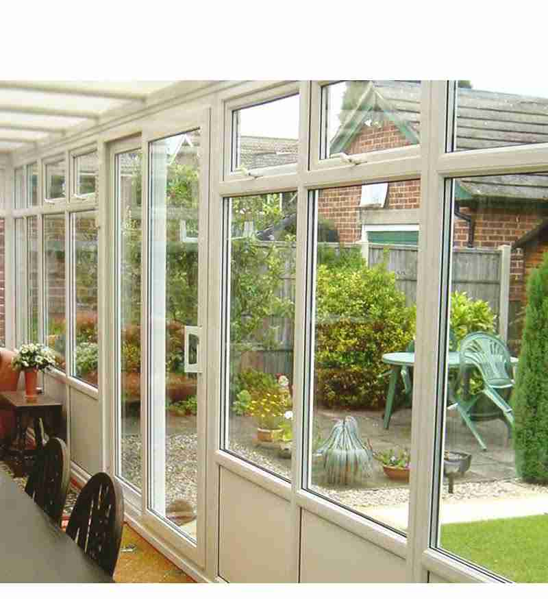 sliding patio doors letting the light in