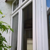 uPVC casement windows in white