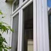 uPVC casement windows in white
