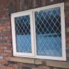 timber casement windows finished in cream